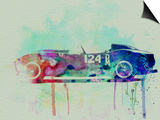 Ferrari Testa Rossa Watercolor 2 Prints by  NaxArt