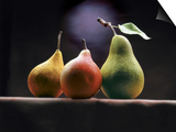 Three Pears Print by  ATU Studios