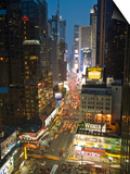 Broadway Looking Towards Times Square, Manhattan, New York City, USA Posters by Alan Copson