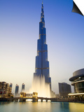 Burj Khalifa, Dubai, United Arab Emirates Prints by Neil Farrin