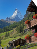 Matterhorn, Zermatt, Canton Valais, Swiss Alps, Switzerland, Europe Posters by Angelo Cavalli