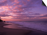 Sunset and the Ocean, CA Prints by Mitch Diamond