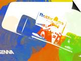 Senna Posters by  NaxArt
