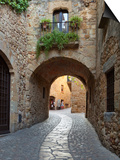 Street Scene in Old Town, Pals, Costa Brava, Catalonia, Spain, Europe Prints by Stuart Black