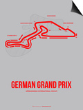German Grand Prix 1 Posters by  NaxArt