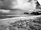 Infrared Image of Dalmore Beach, Isle of Lewis, Hebrides, Scotland, UK Prints by Nadia Isakova