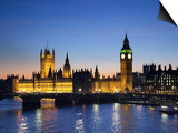 Jon Arnold - Big Ben and Houses of Parliament, London, England Plakát
