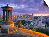 Stewart Monument, Calton Hill, Edinburgh, Scotland Prints by Doug Pearson
