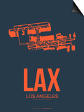 Lax Los Angeles Poster 3 Prints by  NaxArt