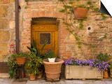 Montefollonico, Val D'Orcia, Siena Province, Tuscany, Italy Prints by Sergio Pitamitz
