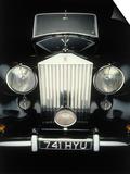 Front End of Old Rolls Royce Art by Rick Kooker