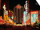 Las Vegas at Night, Nevada Prints by Eric Figge