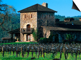 V Sattui Winery and Vineyard in St. Helena, Napa Valley Wine Country, California, USA Posters by John Alves