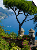 Rufolo View, Ravello, Amalfi Coast, UNESCO World Heritage Site, Campania, Italy, Europe Prints by Charles Bowman
