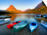 Two Medicine Lake and Sinopah Mountain, Glacier National Park, Montana, USA Posters by Jamie & Judy Wild