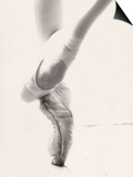 Close-up of Ballerina's Feet and Legs Posters by John Glembin