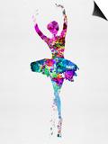 Ballerina Watercolor 1 Pósters por Irina March
