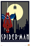 Marvel Retro - Spiderman Kunstdrucke