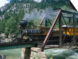 Durango-Silverton Line, CO Art by Sherwood Hoffman