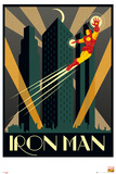 Marvel Retro - Iron man Poster
