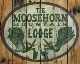 The Moosehorn Mountain Lodge Prints by Katelyn Lynch