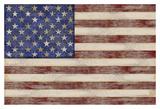 U.S. Flag Poster by  Sparx Studio