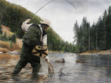 Fishing the Gallatin Posters by Kevin Daniel
