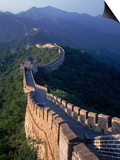 The Great Wall, Beijing, China Art by Hal Gage