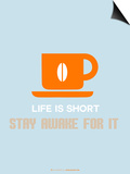 Coffee Poster Orange Posters by  NaxArt