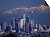 View of San Gabriel Mountain, Los Angeles Prints by Gary Conner