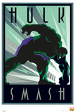 Marvel Retro - Hulk Poster