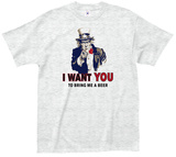 I Want You T-shirts