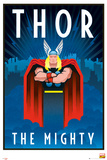 Marvel Retro - Thor Prints