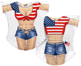Miss America Bikini Cover-Up T-shirts