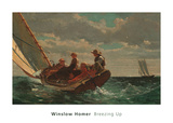 Breezing Up (A Fair Wind), 1873-1876 Art by Winslow Homer