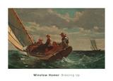 Breezing Up (A Fair Wind), 1873-1876 Art by Winslow Homer