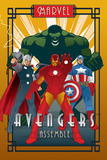 Marvel Deco - Avengers - Poster