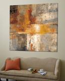 Silver and Amber Crop Posters av Silvia Vassileva