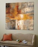 Silver and Amber Crop Prints by Silvia Vassileva