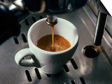 Machine Pouring Cup of Espresso Prints by John Dominis