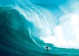 Wellenreiter Kunstdruck