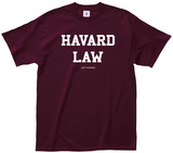 Harvard Law T-shirts