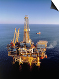 Off-Shore Oil Rig Prints by Ken Glaser