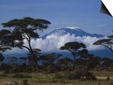 Kenya, Mount Kilimanjaro Prints by Michele Burgess
