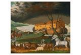 Noah's Ark, 1846 Plakater av Edward Hicks
