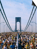 Runners, Marathon, New York, New York State, USA Prints by Adam Woolfitt