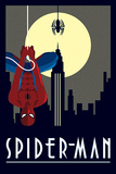 Marvel Deco - Spider-Man Hanging - Reprodüksiyon