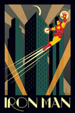 Marvel Deco - Iron Man Plakat