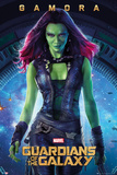 Guardians of the Galaxy - Gamora Plakater