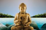Zen - Buddha Lake Plakáty